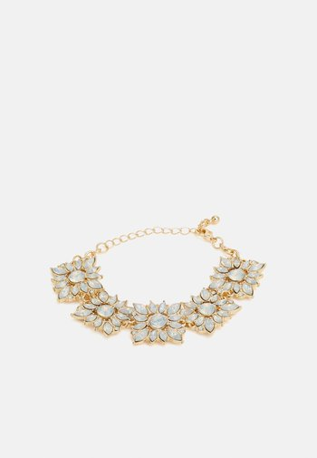 PCSISSEL BRACELET - Bracelet - gold-coloured/clear