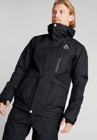 Wearcolour - ACE JACKET - Snowboardjakke - black - 0