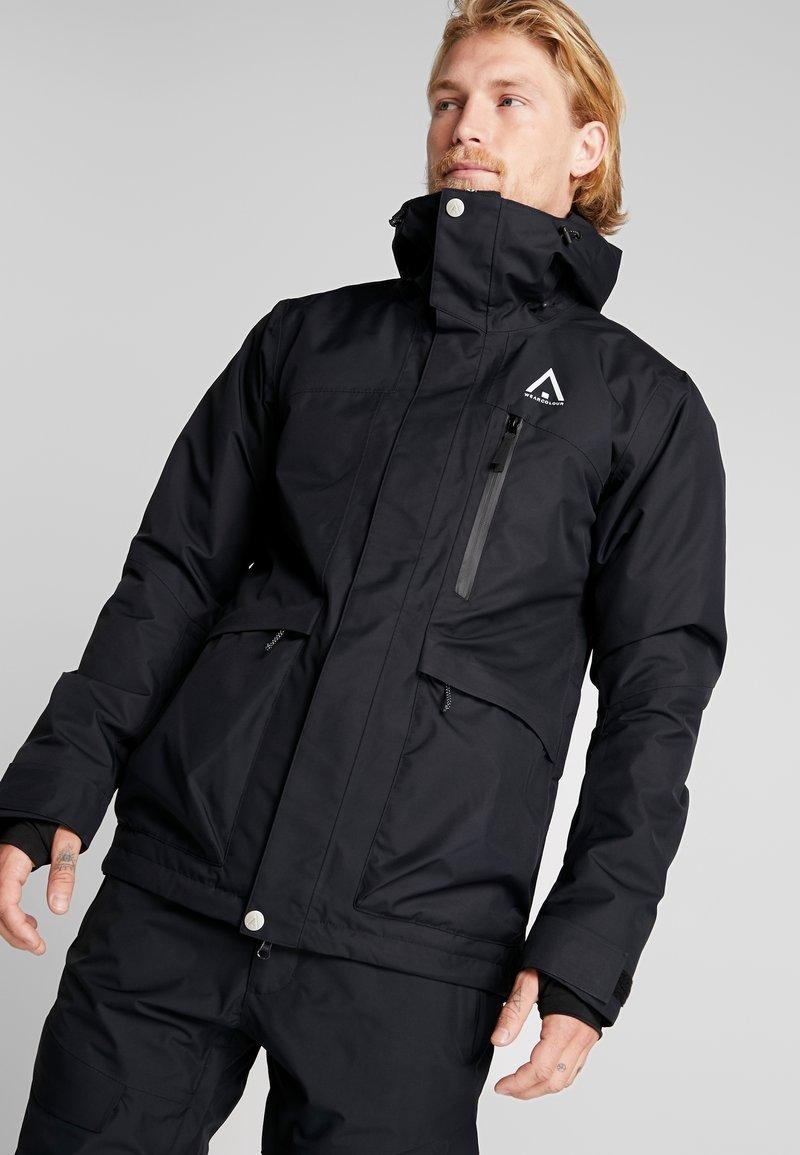 Wearcolour - ACE JACKET - Snowboardjakke - black