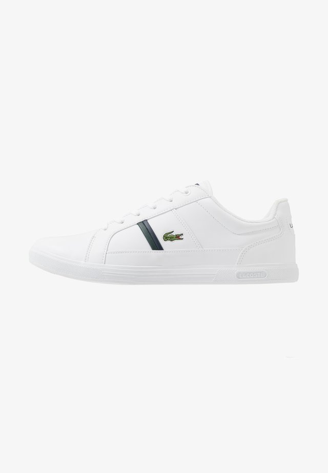 EUROPA - Sneakers laag - white/dark green