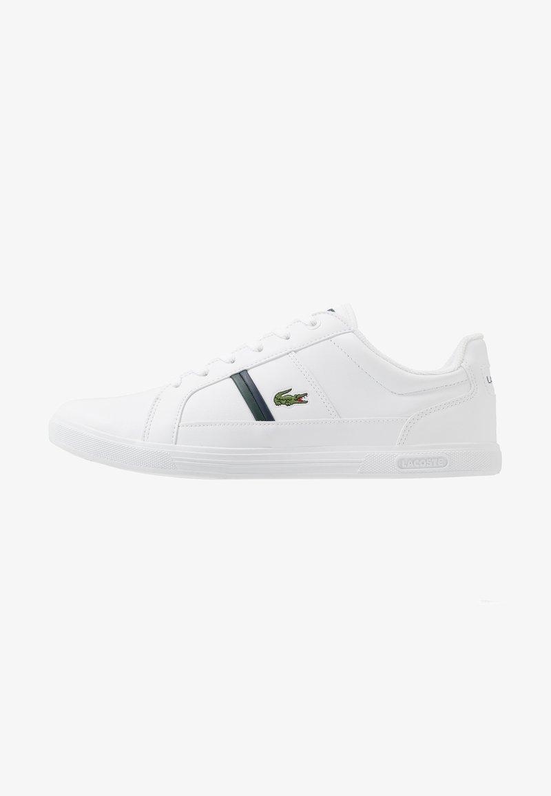 Lacoste - EUROPA - Tenisky - white/dark green