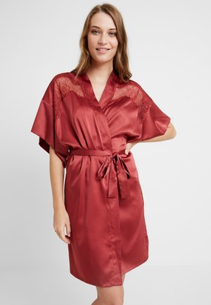 DAILY KIMONO - Dressing gown - barn red