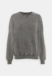 OVERSIZED ACID WASH SWEATSHIRT - Sweatshirt - grey