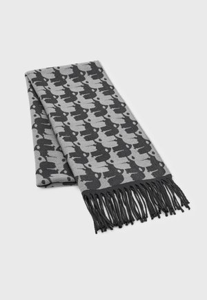 UNISEX - Scarf - mottled dark grey