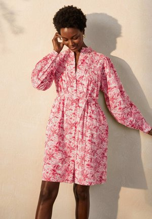 ANTONIA - Shirt dress - azalee, tropische palme