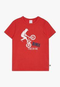 Fred's World by GREEN COTTON - BMX FREE RIDE - Print T-shirt - traffic red - 0