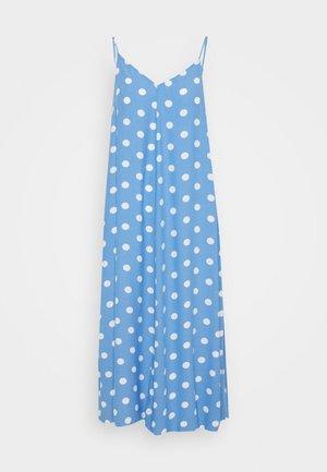 VMNORA NEW SINGLET CALF DRESS - Day dress - granada sky/snow white