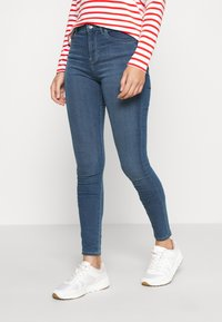 ONLY - ONLGLOBAL  - Jeans Skinny Fit - medium blue denim - 0
