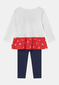 Levi's® - PEPLUM SET - Leggings - Trousers - white - 1