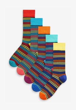 5 PACK - Socks - red