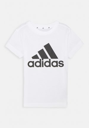 T-shirt print - white/black