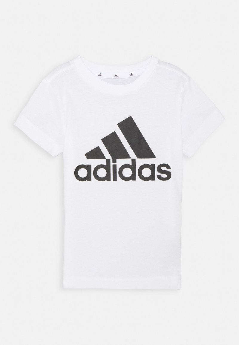 adidas Performance - UNISEX - T-Shirt print - white/black