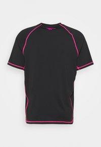 Hi-Tec - BOLT TEE - Print T-shirt - black - 1