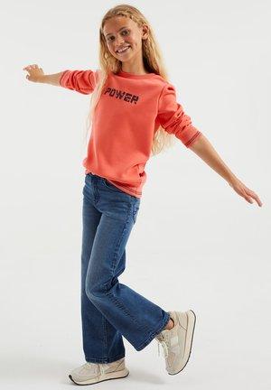 MEISJES - Jeans baggy - light blue