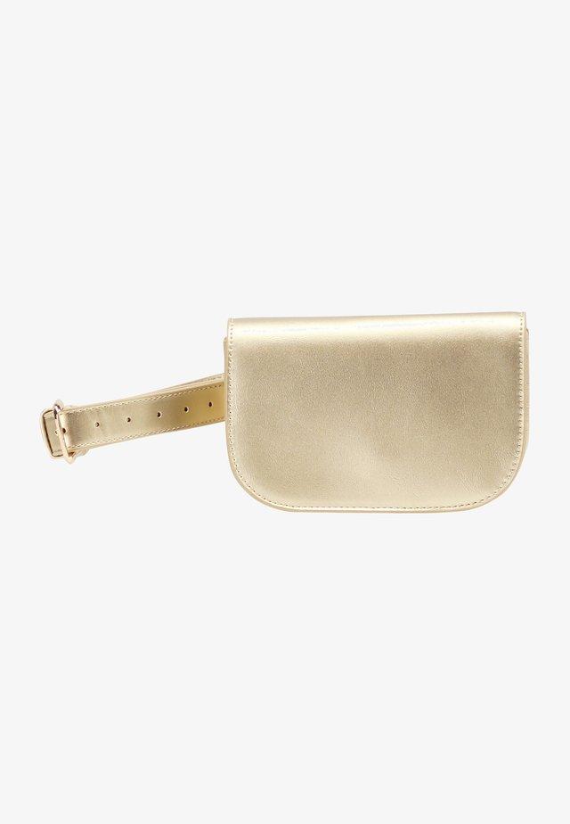 Vyölaukku - gold metallic