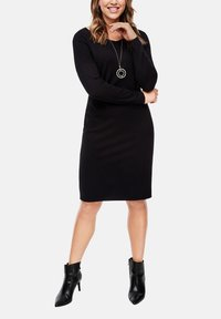 Triangle - Shift dress - black - 3