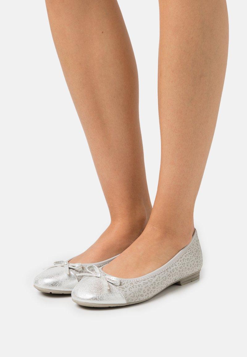 Jana - Ballerinat - light grey