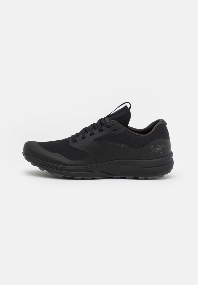 NORVAN LD 2 M - Trail running shoes - black/cinder