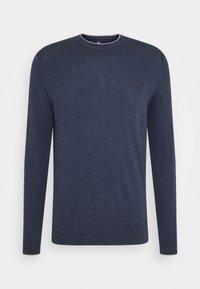 Tommy Hilfiger Tailored - CONTRAST DETAIL C NECK - Jumper - blue - 4