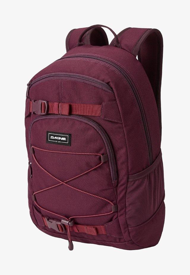 School bag - garnet shadow