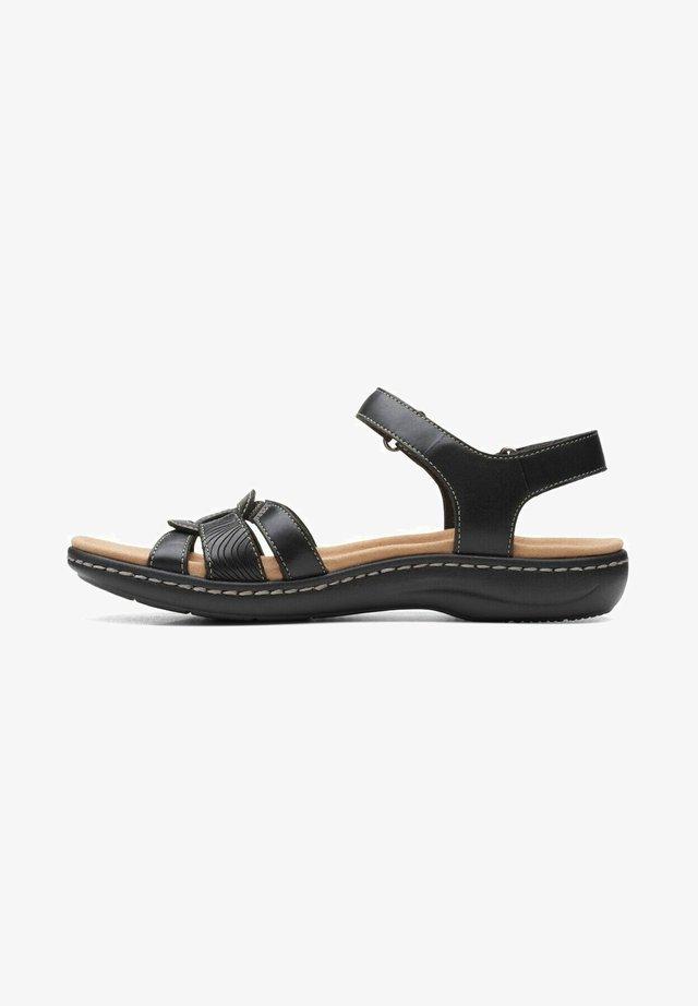 Sandalias - black leather