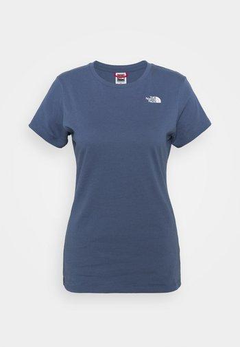 SIMPLE DOME TEE - T-shirt basic - vintage indigo