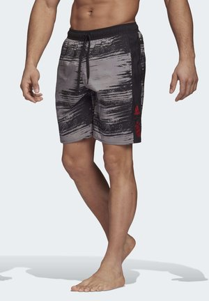 FC BAYERN MUNICH SWIM SHORTS - Swimming shorts - black