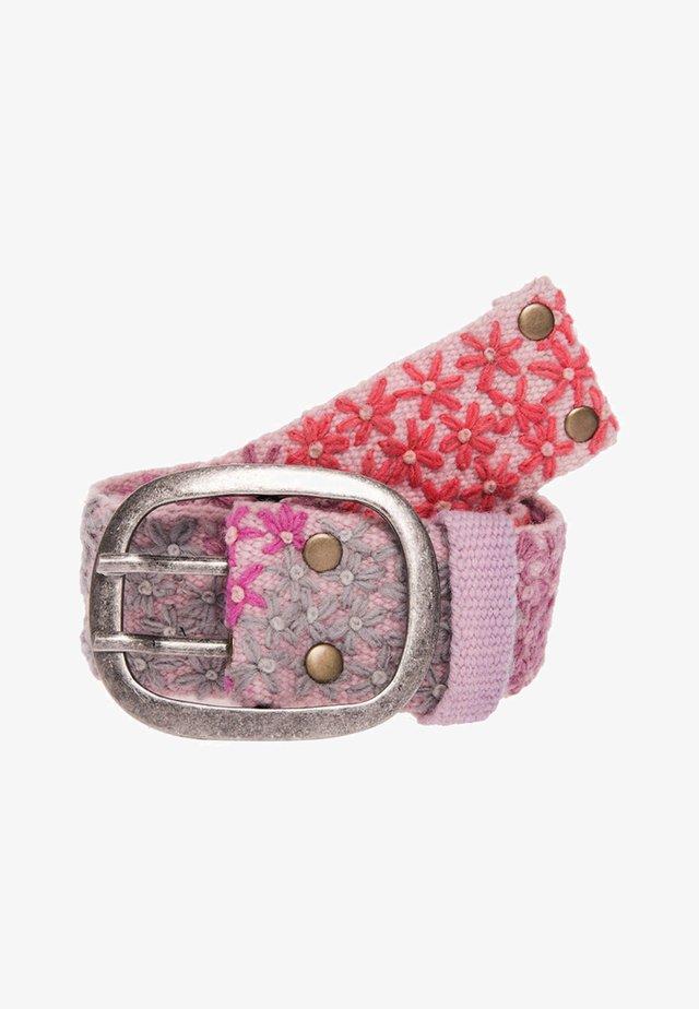 Belt - rosa grau pink lila