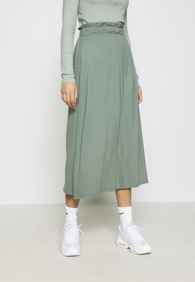 A-line skirt - laurel wreath
