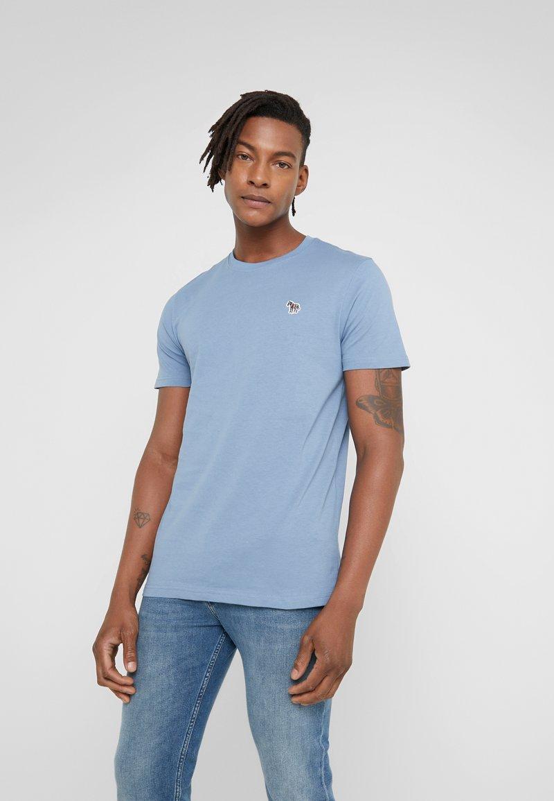 PS Paul Smith - ZEBRA  - Basic T-shirt - blue