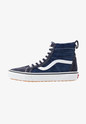 SK8 MTE UNISEX - Korkeavartiset tennarit - navy/true white