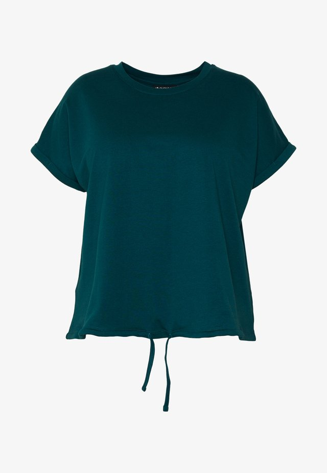 T-shirt con stampa - purple/turquoise
