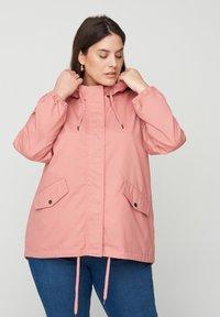 Zizzi - Outdoor jacket - rose - 0