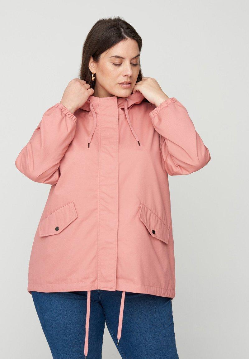Zizzi - Outdoor jacket - rose