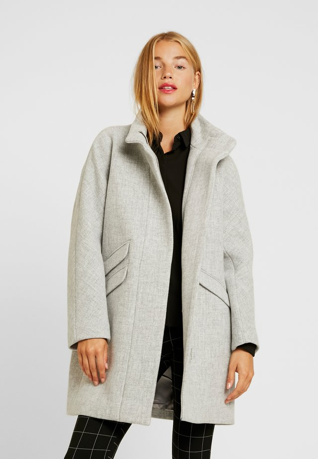 COCOON COAT - Abrigo - heather dusk