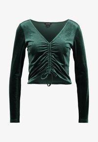 Monki - OLLE - Bluzka z długim rękawem - dark green - 3