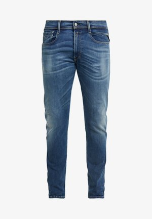 ANBASS HYPERFLEX BIO - Jean slim - medium blue