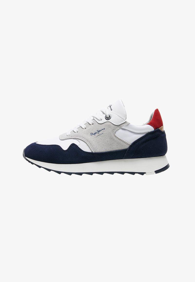 Pepe Jeans - SLAB SUMMER - Sneakers - azul marino