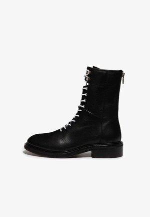 MISTY  - Lace-up ankle boots - black