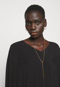 Bruuns Bazaar - LUA ALLURA DRESS - Denní šaty - black - 3