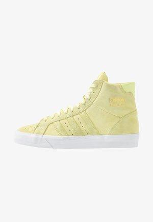 BASKET PROFI WOMEN - Korkeavartiset tennarit - yellow tint/footwear white/gold metallic