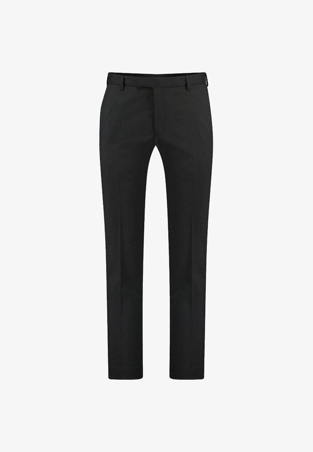 MERCER - Suit trousers - black