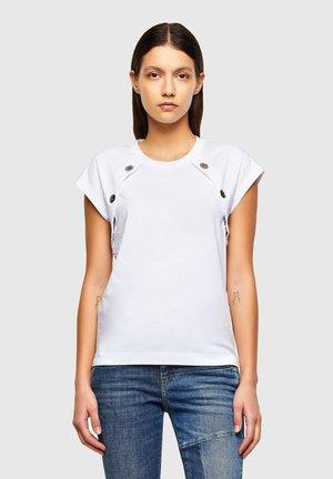 T-TALLER - Print T-shirt - white