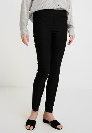 KAJOLEEN - Leggings - Trousers - black deep