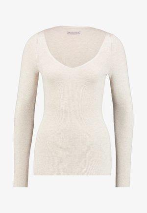 Maglione - beige melange