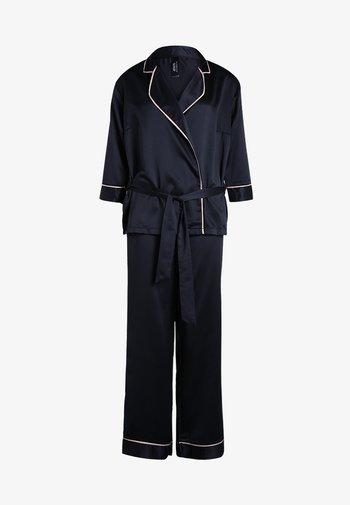 WREN KIMONO AND TROUSER SET - Pyjama set - black
