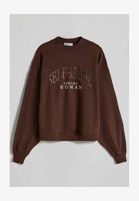 OVERSIZE - Sweatshirt - brown