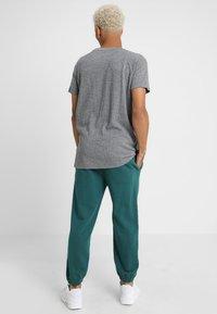 Urban Classics - MELANGE TEE - T-shirt - bas - white/black - 2