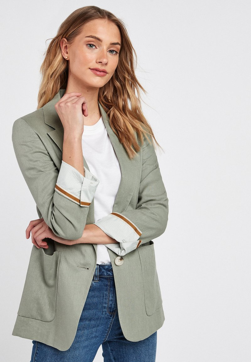 Next - Short coat - green
