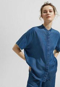 Esprit Collection - Blouse - blue medium washed - 4